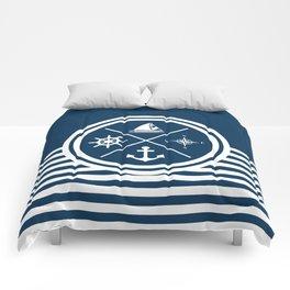 Sailing symbols Comforters