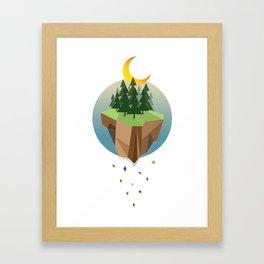 Falling Sky Framed Art Print