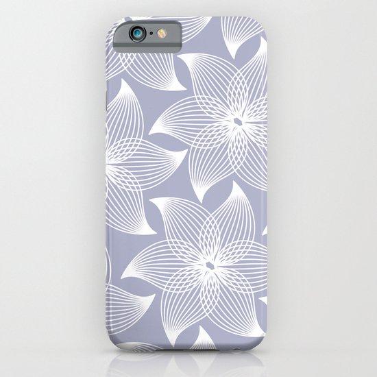 Pale flower pattern iPhone & iPod Case