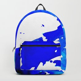 Save The Water Watercolour Backpack