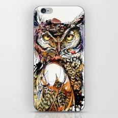 Owl Sounds iPhone & iPod Skin