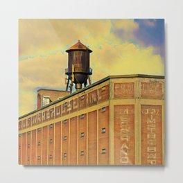 Montreal factory Metal Print