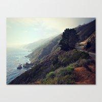 big sur Canvas Prints featuring Big Sur by FlavioSarescia