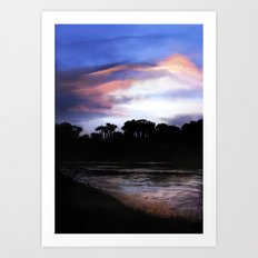 Essex River Art Print