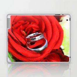 Flowers of love Laptop & iPad Skin