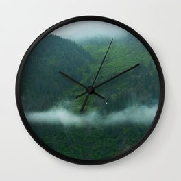 Northern South Coast Rainforest Wall Clock
