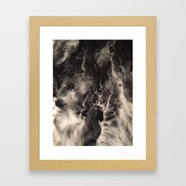 Cellular Explosion SMOKEn CLOUDS Framed Art Print