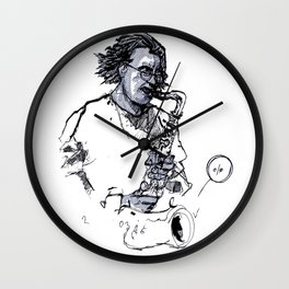russ gershon of the either orchestra Wall Clock