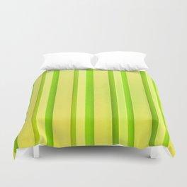 Stripes - Lemon-Lime Duvet Cover