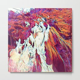 Wall ~ Rust Metal Print