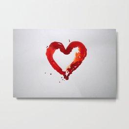 heart, art, painting. Metal Print