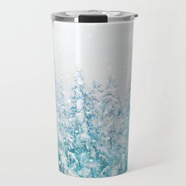 Snowy Pines Travel Mug
