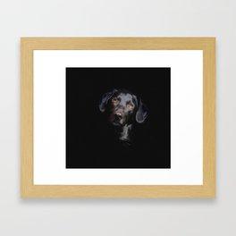 Labrador Hybrid Mix Dog Framed Art Print