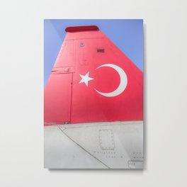 Turkish Air Force Logo Metal Print