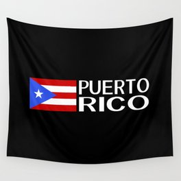 Puerto Rico: Puerto Rican Flag & Puerto Rico Wall Tapestry