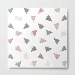 Confetti Shy Metal Print