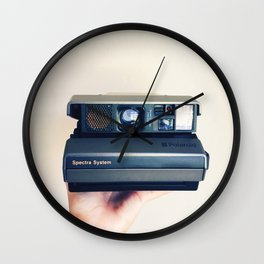 Polaroid Spectra Love Wall Clock