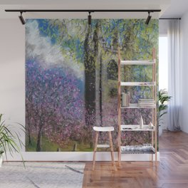 Spring Blossom at St Mary's Wall Mural