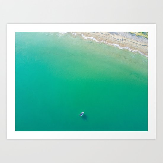 Summer Solitude Art Print