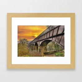 Llangollen Aquaduct Framed Art Print