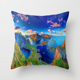 The Islands Throw Pillow
