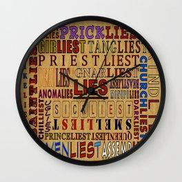 LIES - 058 Wall Clock