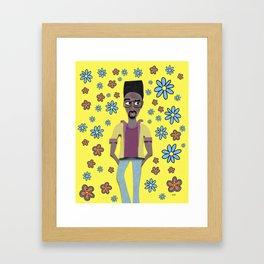 kelvin. Framed Art Print