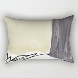 minimalist painting 03 Rectangular Pillow