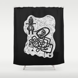 Infertility Doll Shower Curtain