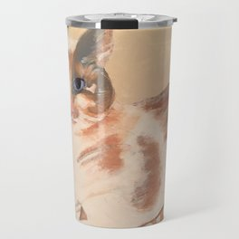 Calico Kitten Travel Mug