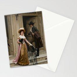 "Edmund Blair Leighton ""My Next-Door Neighbour"" Stationery Cards"