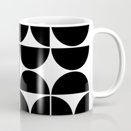 Mid Century Modern Geometric 04 Black Coffee Mug