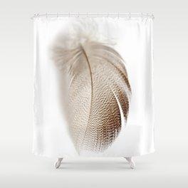 Mallard Feather Shower Curtain