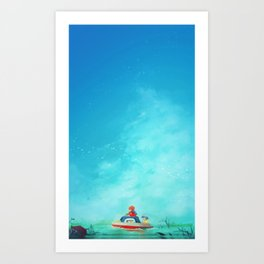 Ponyo (No Text) Art Print