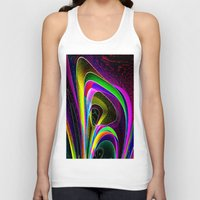 magneto Tank Tops featuring magneto-dynamic by David  Gough