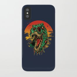 Zombie T-Rex iPhone Case
