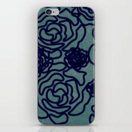 Green Flower iPhone Skin