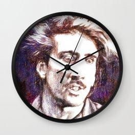 H. I. from Raising Arizona Wall Clock