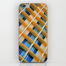 Scratchy Hotel Facade iPhone Skin