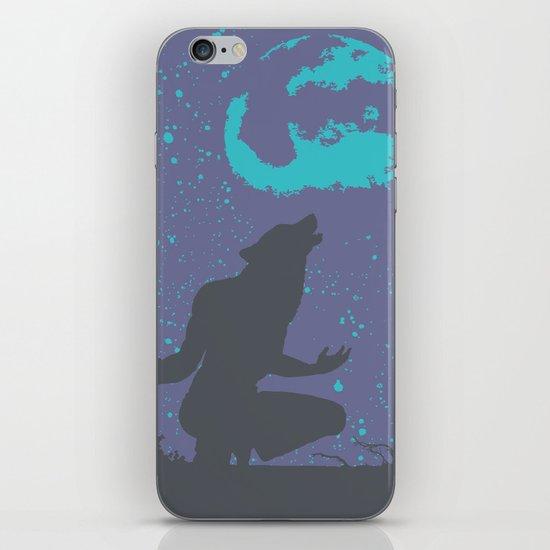 The Werewolf of Saddle Creek iPhone & iPod Skin