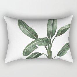 Banana Leaf Trees - Tropical Watercolour Trees illustration Rectangular Pillow