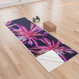 Moonlit Plants Yoga Towel