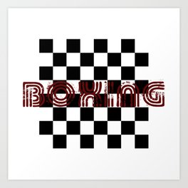 Chess Boxing Art Print