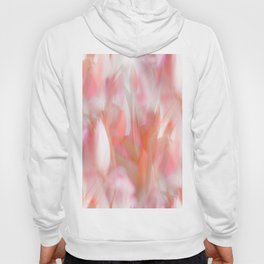 Pink Tulips Abstract Nature Spring Atmosphere Hoody