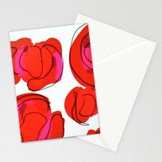 abstract cheetah print Stationery Cards