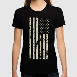 Distressed Tactical U.S. Flag T-shirt