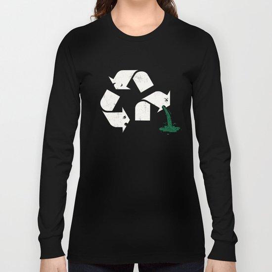 Green Sickness Long Sleeve T-shirt