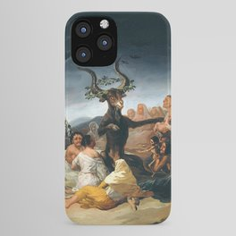 THE SABBATH OF THE WITCHES - GOYA iPhone Case