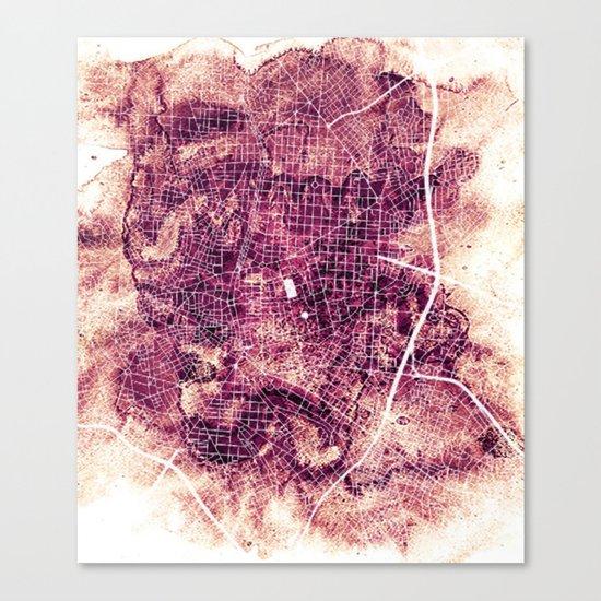 Madrid Canvas Print