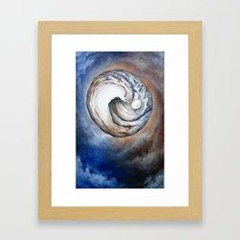 Circle 2 Framed Art Print